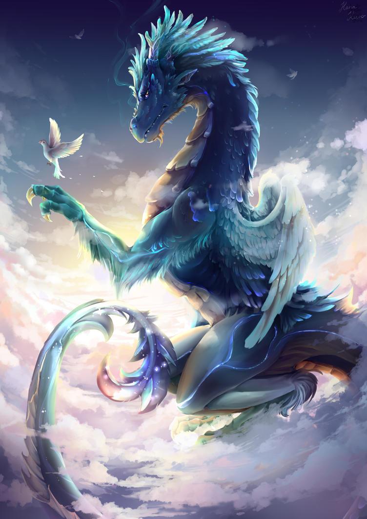 Sky Dragon (kicsi) by KuroHana-dono