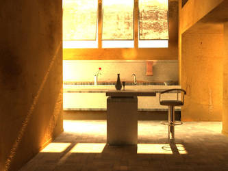 Summer Kitchen by Orkron