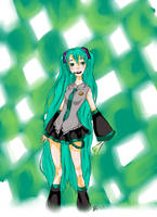 Hatsune Miku by FourStooges