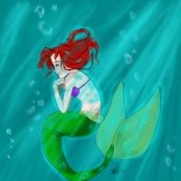 Zee Little Meermaid by FourStooges