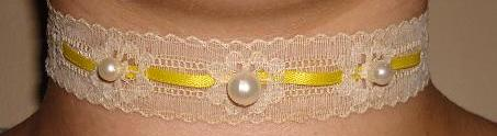 Choker-Necklace-  Sunny day by NuclearBombFlower