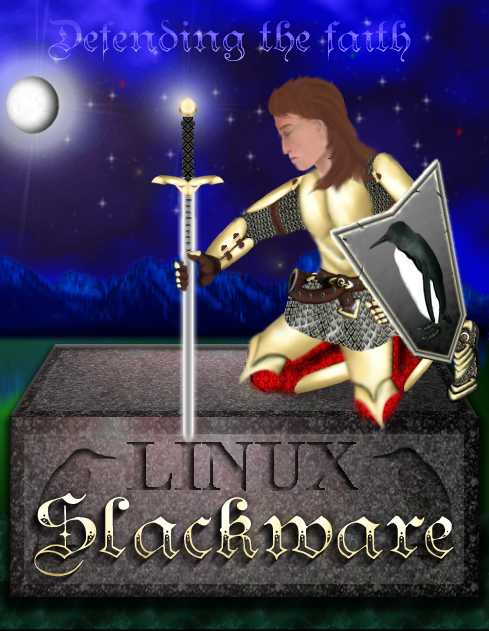 Slackware by XRedRavenX