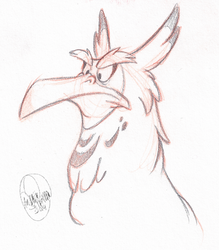 Miffy Gryph by SharpDressedReptile