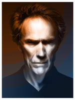 Clint Eastwood Vector by Atebitninja