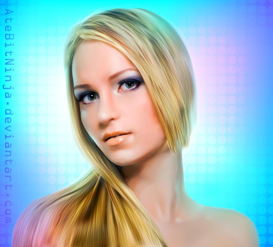 Vector Blondie by Atebitninja