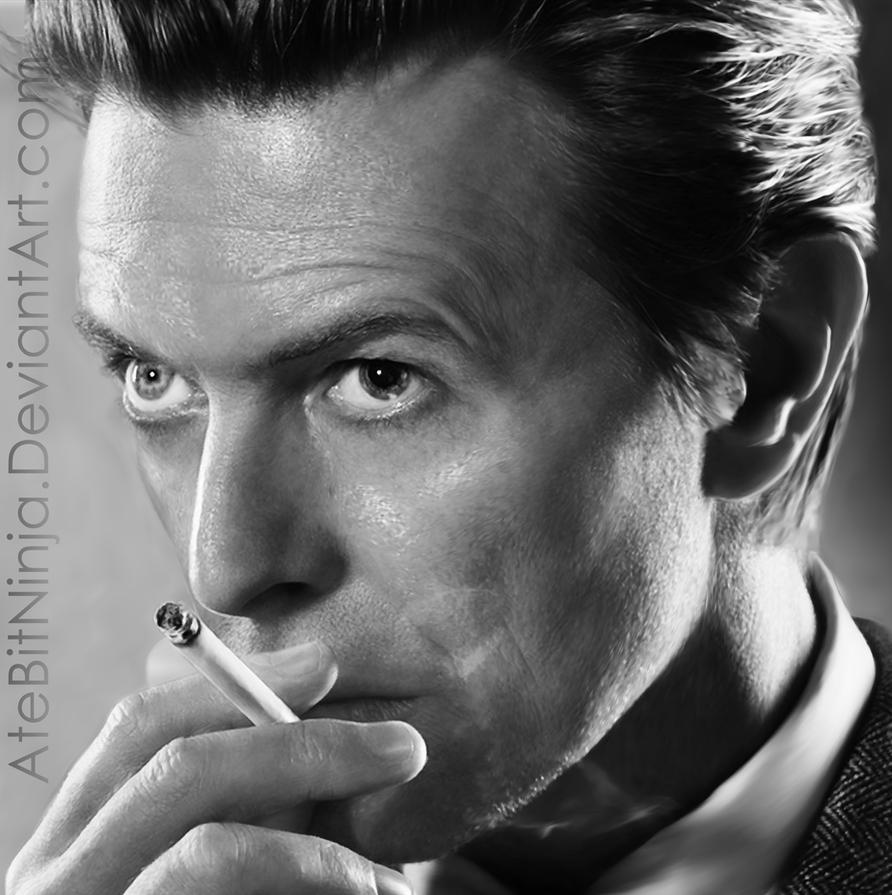 David Bowie - Vector by Atebitninja