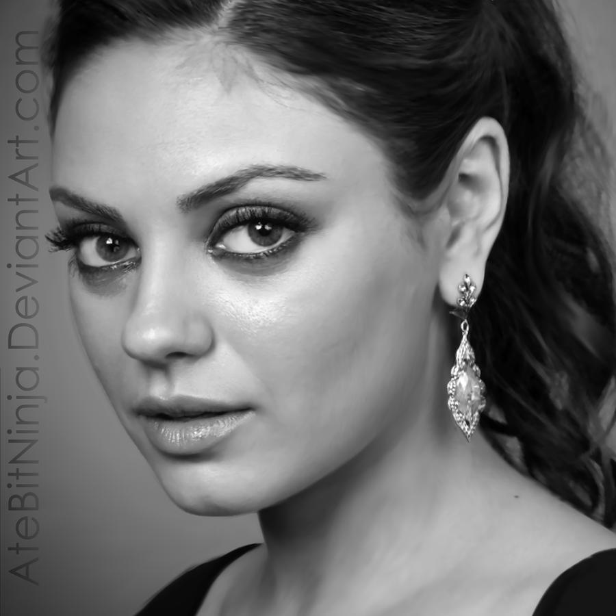 Mila Kunis - Vector by Atebitninja