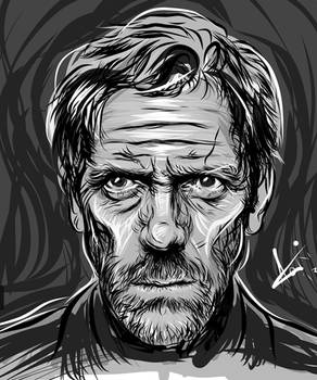 Adobe Ideas - Hugh Laurie Sketch