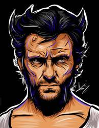 Hugh Jackman Wolverine - Adobe Ideas