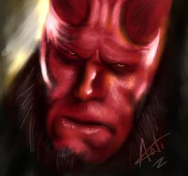 Hellboy - iPad ProCreate