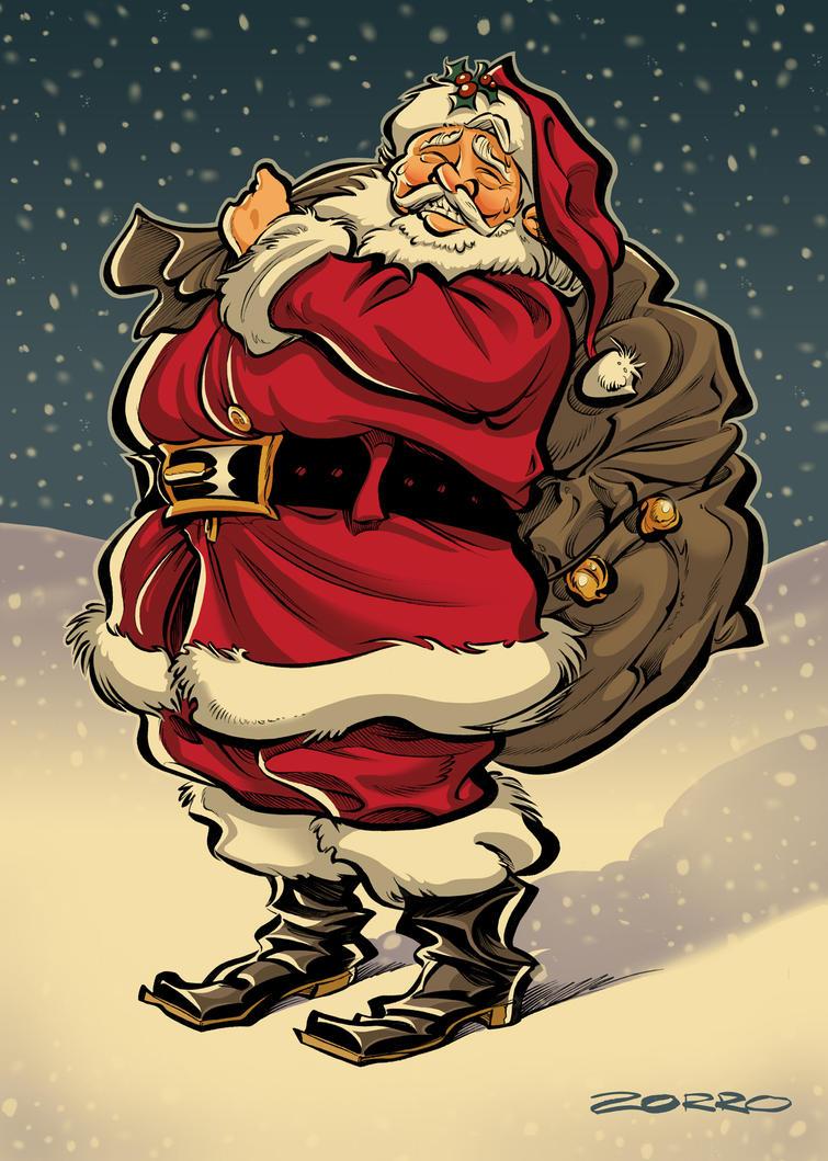 Santa Claus by ZorroDeBianco
