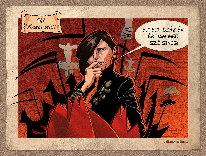 El Kazovszkij by ZorroDeBianco