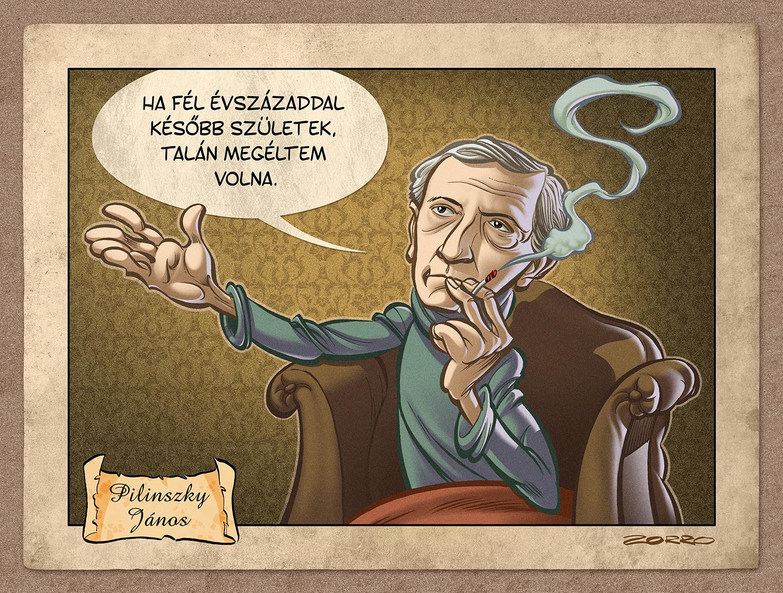 Janos Pilinszky by ZorroDeBianco