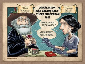 Walt Withman and Virginia Woolf