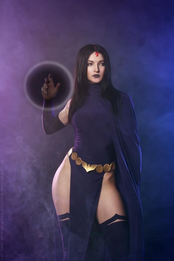 Raven - DC comics by Kaori-Tasogare