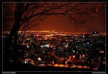 Montreal at Night by confucius-zero