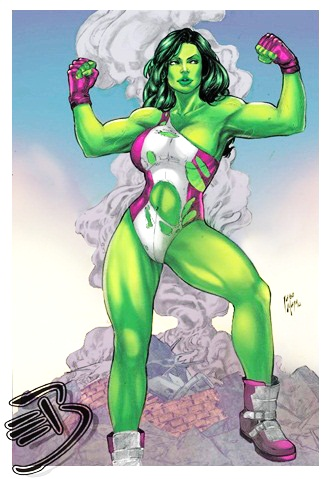 She Hulk by Iago-Maia