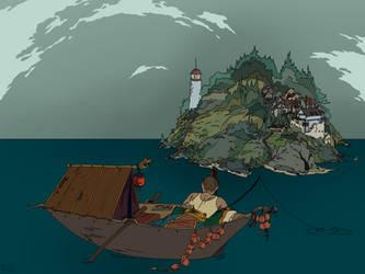 Fisherwoman by radijad