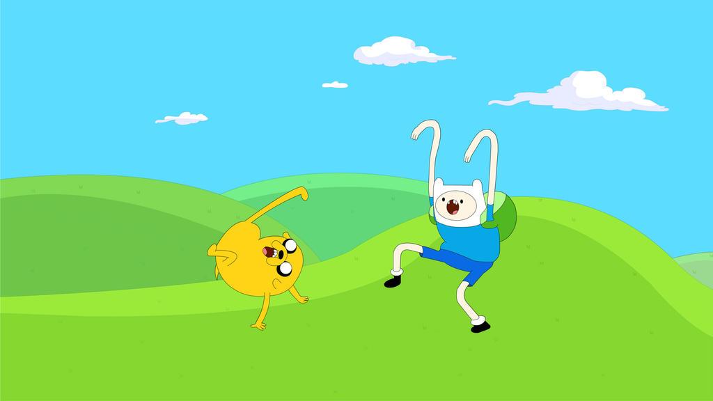 Adventure Time by chrislightning