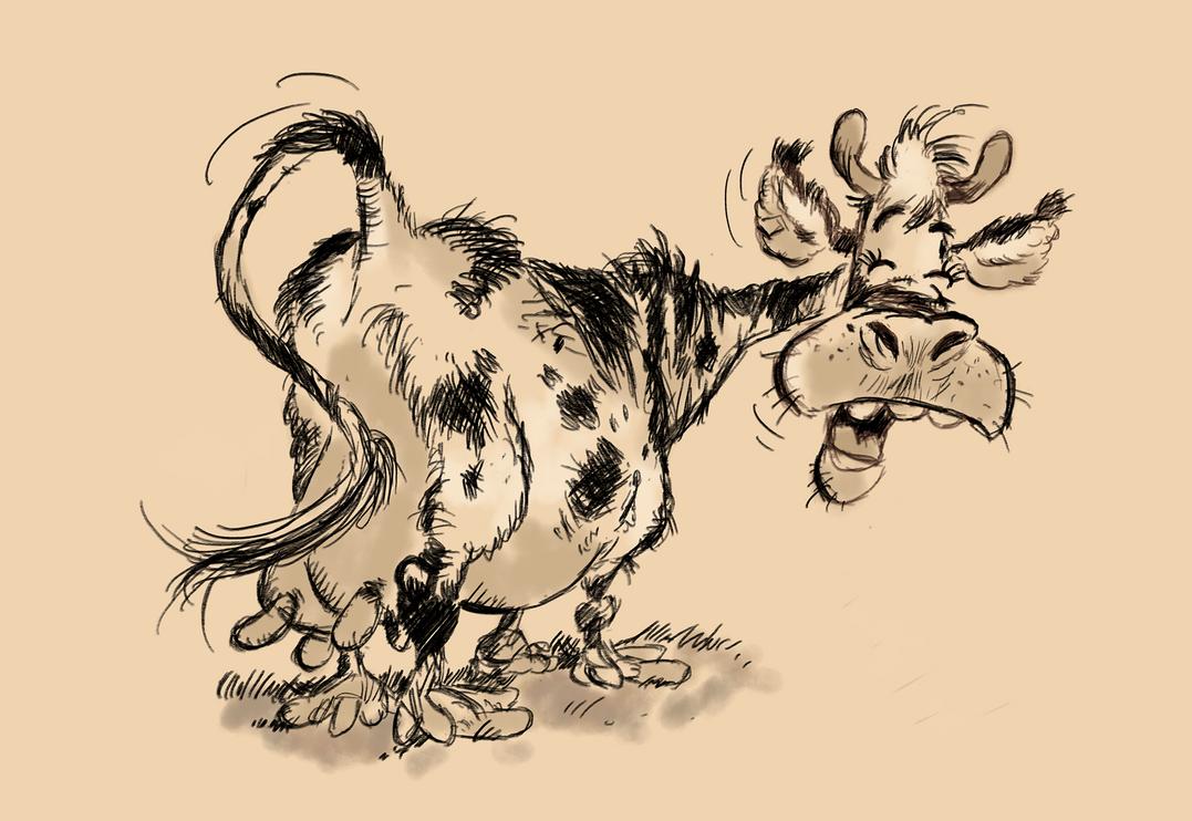 Franquin cow (study)