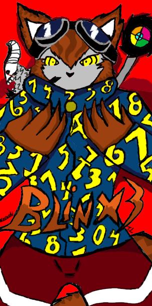 Blinx 3 Hero's Through Time (Promo Art) Subject ?? by Blinx3megachanel