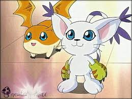 Gatomon And Patamon patamon and gatomon by...