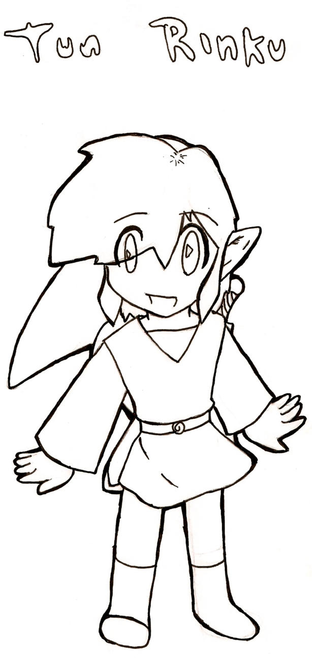 toon link coloring pages - photo#6