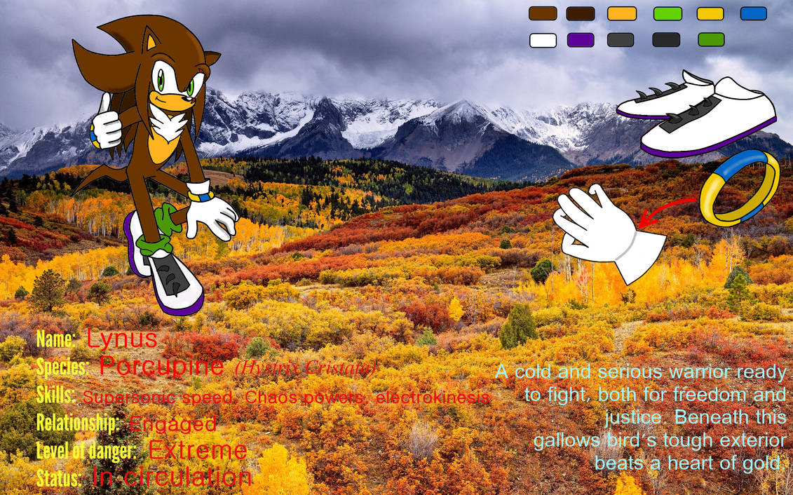 References - .::Lynus the Porcupine::.