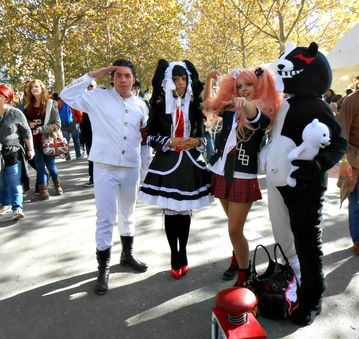 danganronpa cosplay group by lynus the porcupine on deviantart