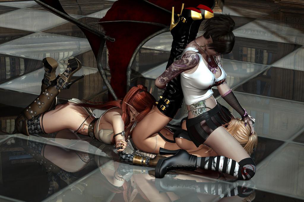 Jenny Poussiny Devilnessa Demonessa Elfen 111 by Evinessa