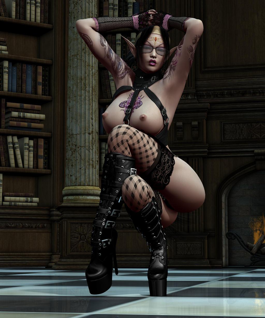 Fantasy sexy 3-dimensional art erotic photos