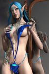 Sexy Devil Vamp Elf Phantasy 005