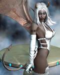 Evinessa Fantasy Sexy Devil Vamp Dark Elf 011 D