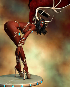 Evinessa Fantasy Sexy Devil Elf Purgatory 003