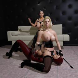 Mistress Zara is having fun by Circesvictim