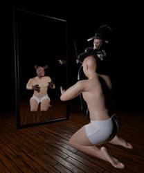 Mirror of truth by Circesvictim