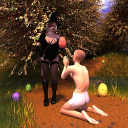 Experience Easter with a witch by Circesvictim