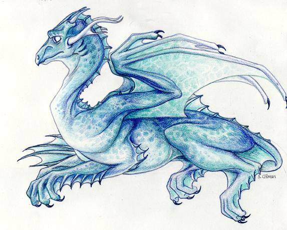 Water Dragon by lunatteo on DeviantArt