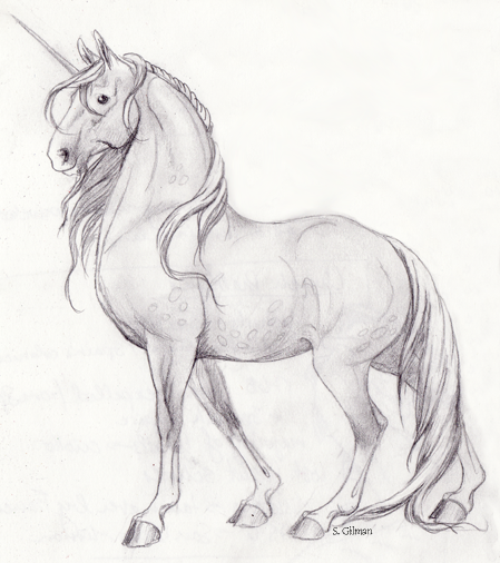Image result for unicorn colored drawing full body realistic