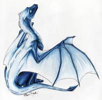 Ze'an's Blue Orykoth by lunatteo