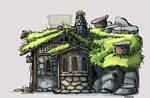 Beorn's Hut - Side Elevation