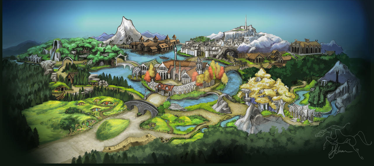 Middle Earth Theme Park