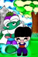 Piccollo and Gohan by MelodiyaMoon