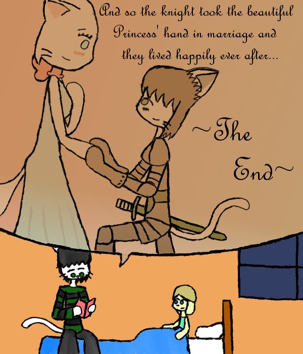 Liam's Bedtime Story by JesterOfToast