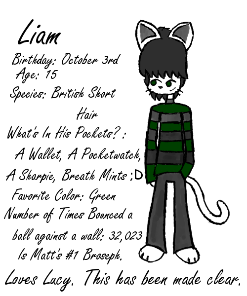 BCB Fan Character- Liam by JesterOfToast