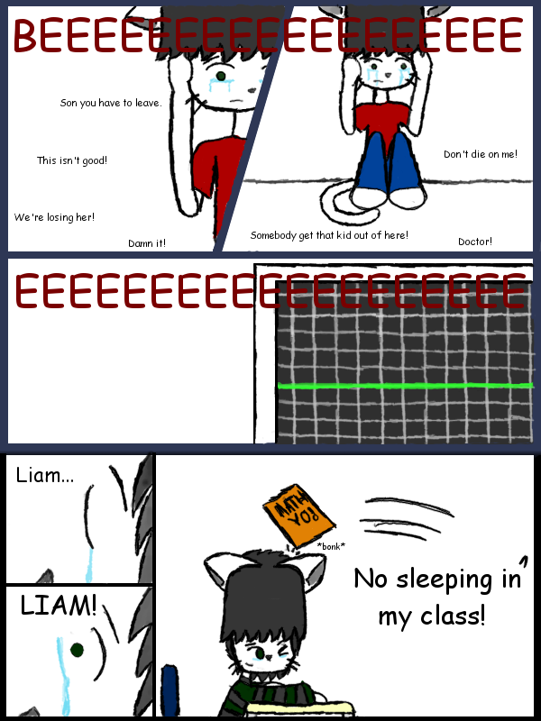 Liam's Painful Memories by JesterOfToast
