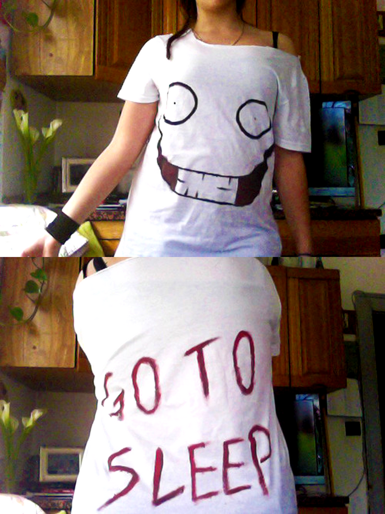 Jeff the Killer t-shirt by Riiko96
