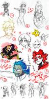 Wakfu doodles dump 3