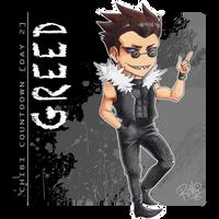 [Chibi Countdown - Day 2] Greed by RiikoChick