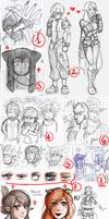 Wakfu doodles dump 4